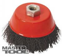 MasterTool Щетка торцевая из рифленой проволоки D 85 М14, Арт.: 19-7208