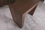 Стол-консоль Nicolas Manchester 3899L (45/200*95) орех, фото 5