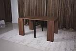 Стол-консоль Nicolas Manchester 3899L (45/200*95) орех, фото 10