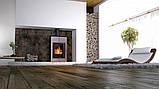 Отопительная печь-камин длительного горения AQUAFLAM VARIO SAPORO (серый), фото 8