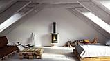Отопительная печь-камин длительного горения Masterflamme Piccolo II (кремовый металлик), фото 5