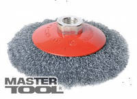 MasterTool Щетка конусная из рифленой проволоки D100 М14, Арт.: 19-8210