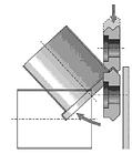 SD4 Ролики для двойного наклонного зига RAS 011 366, фото 3