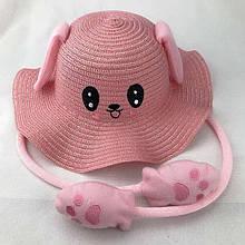 Прикольная летняя светится детская шляпа с подвижными ушами