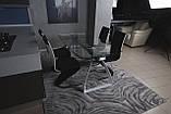 Стол Nicolas London 4558L (160/240*90*75) прозрачный, фото 3
