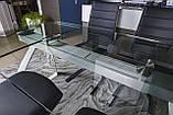 Стол Nicolas London 4558L (160/240*90*75) прозрачный, фото 5