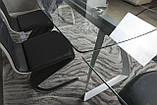 Стол Nicolas London 4558L (160/240*90*75) прозрачный, фото 8