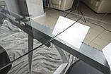 Стол Nicolas London 4558L (160/240*90*75) прозрачный, фото 9