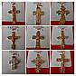 Крестик - подвеска Xuping, позолота. Бижутерия, кулоны из ювелирной коллекции Xuping оптом. 18, фото 2