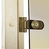Дверь GREUS Premium сауна 80х200 бронза матовая, фото 4