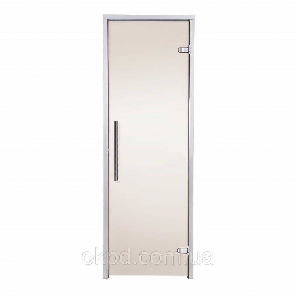 Двері GREUS Premium хаммам 70х200 бронза