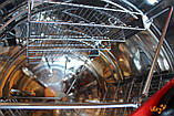 Нержавеющая медогонка 3-х рамочная поворотная. КС, (ПОРОШКОВАЯ ПОКРАСКА), фото 5