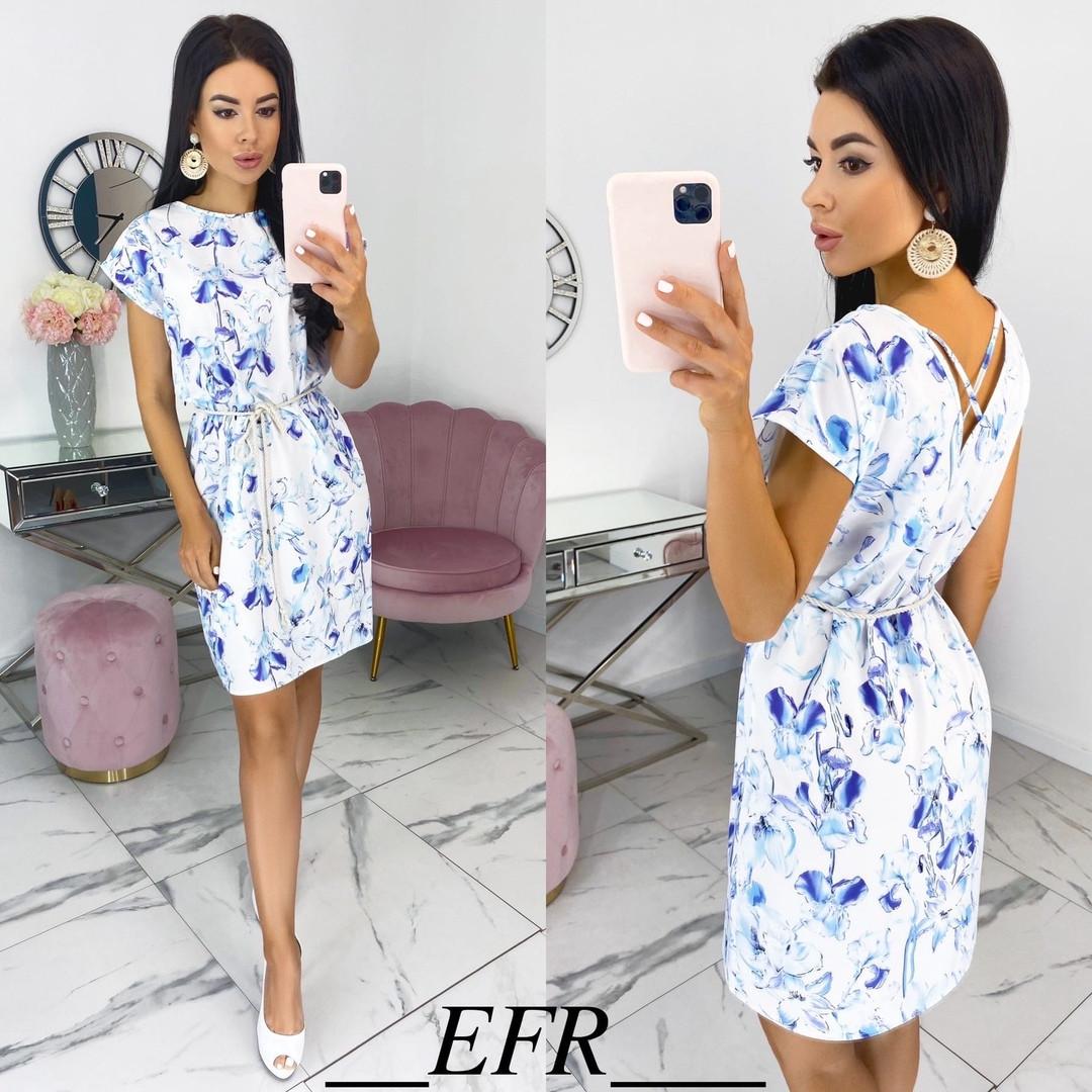 Женское летнее платье с 42 по 48 рр супер софт