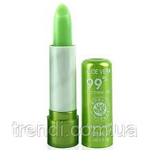 Проявляющаяся гигиеническая помада 99% Aloe Vera