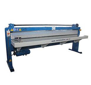 Станок для приготовления ребер жесткости Sente Makina PM2500  Рабочая длина 2500 мм  Толщина металла 0.4-1.2