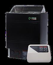 Электрокаменка для сауны и бани EcoFlame AMC 90-D 9 кВт + пульт CON4
