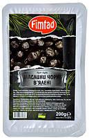 Оливки черные (маслины) вяленые с косточкой 200 г Fimtad (Турция)