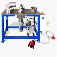 Станок изготовления отводов из нержавеющей стали BМ600 Толщина металла 0.4-1.25мм Диапазон диаметров 80-600 мм
