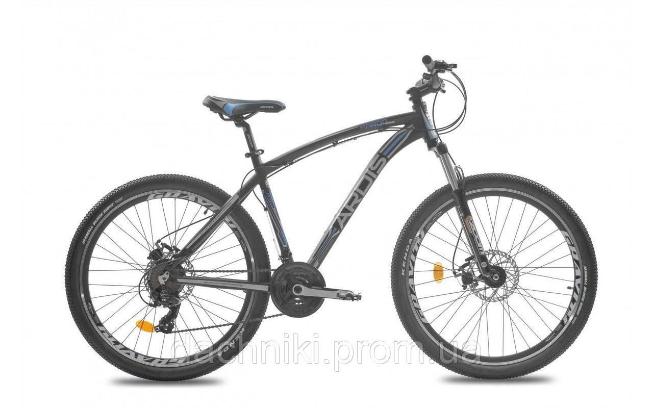 """Велосипед ARDIS AARON 27,5"""" 17"""" Черный"""