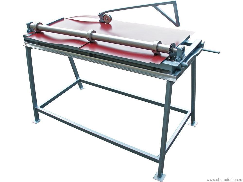 Ручной станок для продольной резки металла Мобипроф СПР-1250/3-Р Привод Ручной Рабочая длина 1250мм