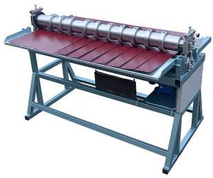 Станок продольной резки металла Мобипроф СПР-1250/10-А Привод Электро Рабочая длина 1250мм