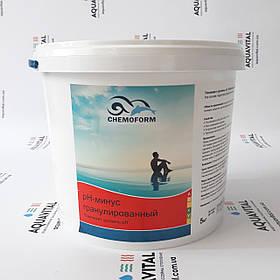 Химия для бассейна Chemoform | средство для снижения уровня pH в гранулах (5 кг)