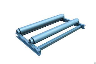 Разматыватель металла HP-1250 привод ручной Рабочая длина 1250 мм