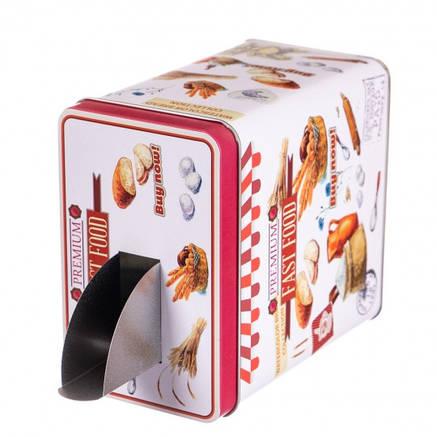 """Коробка для зберігання з дозатором """"Fast Food"""", фото 2"""