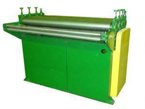 Правильно-подающий станок Ф-125  Толщина металла 1.5 мм  Рабочая длина 1250 мм