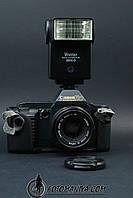 Canon T70  kit Canon nFD 50mm f1.8 + Vivitar flash, фото 1