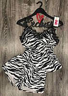 Велюровая пижама майка и шорты с кружевом ТМ Exclusive 038, пижамы женские.