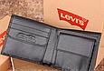 Мужское брендовое портмоне Levis (4452) подарочная упаковка, фото 2