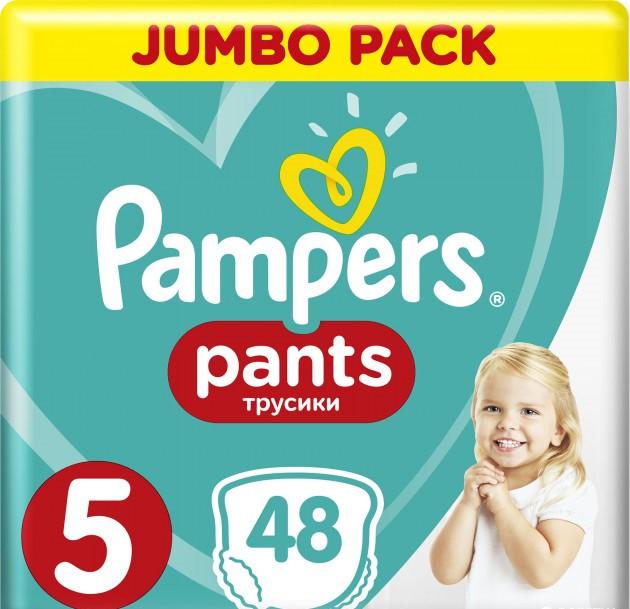 Підгузки-трусики Pampers Pants 5 (12-17кг), 48шт