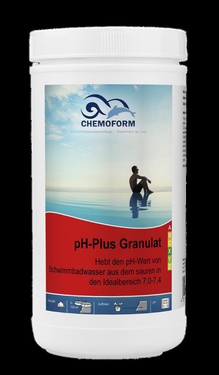 Хімія для басейну Chemofom | pH плюс в гранулах (1 кг)