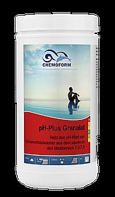 Химия для бассейна Chemofom |  pH плюс в гранулах (1 кг)