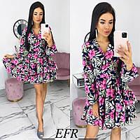 Женское красивое платье с 42 по 48 рр супер софт