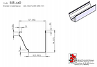 Машина для желобов RSM 650 Толщина металла 0,7 мм Ширина исходного листа 300, 380 мм, фото 4