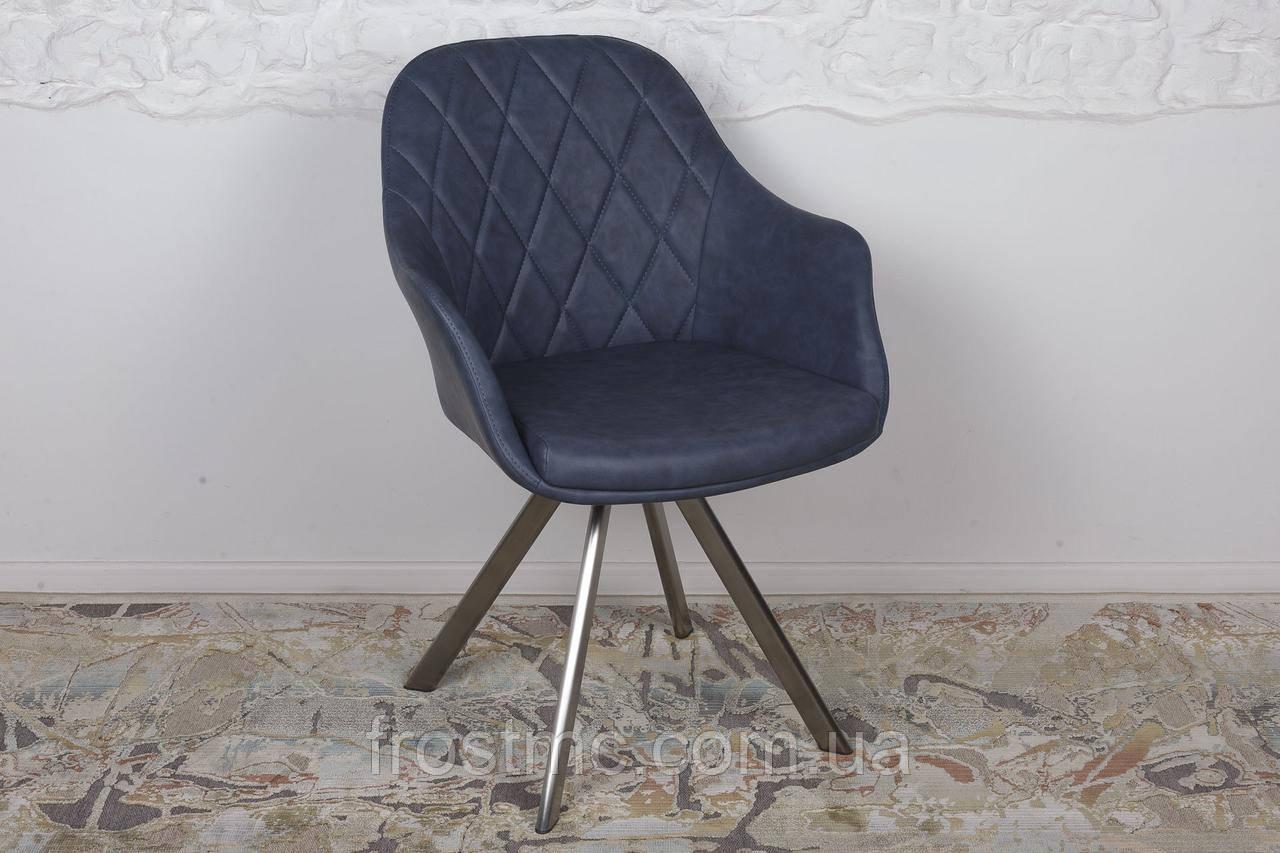 Кресло Nicolas Almeria F333B/Z синее поворотное