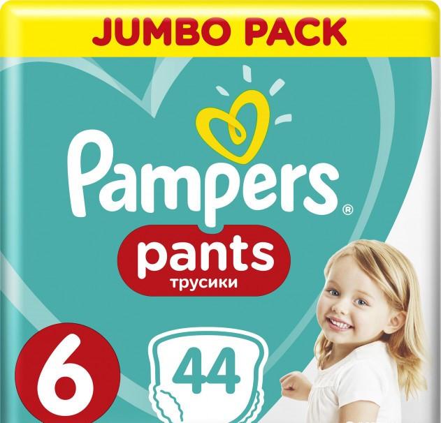 Підгузки-трусики Pampers Pants 6 (15+кг), 44шт