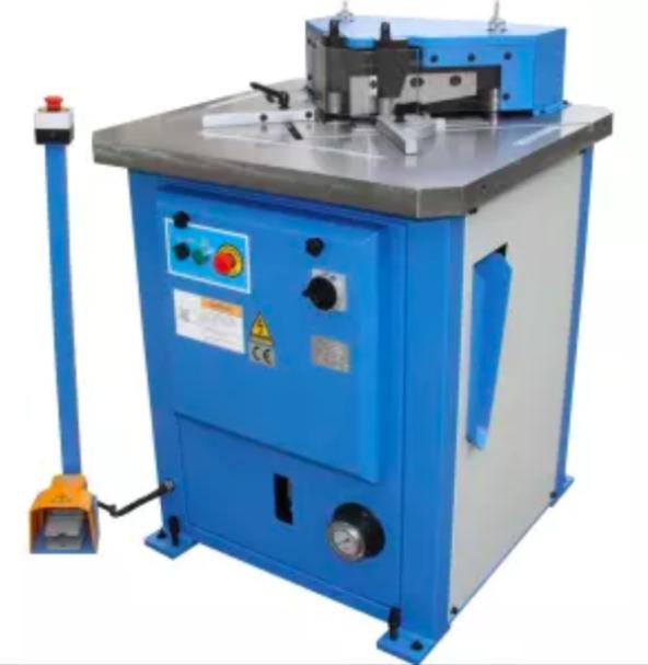 Угловысечной станок HNM-6 Толщина металла 6.5 мм Рабочая зона 250х250 мм