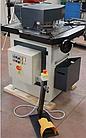 Угловысечной станок FABTEC HNM6-VP с регулируемым углом и дыропро Толщина металла 6 мм Рабочая зона 200х200 мм, фото 2