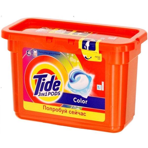 Капсулы для стирки Tide PODS 3в1 Color 12 шт
