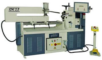 Станок для резки кругов Sahinler IDK-3.5 Толщина металла 3.5 мм Диапазон диаметров 200 - 1200 мм