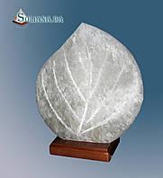 Светильник соляной Листик 3-4 кг