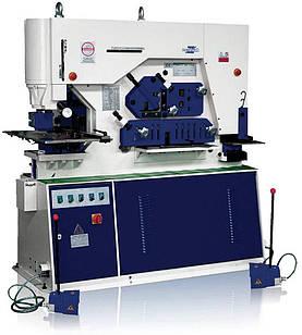 Об'єднані гідравлічні прессножницы MONAX Q35Y-40 Зусилля 200 т Глибина подачі (зів) 600 мм