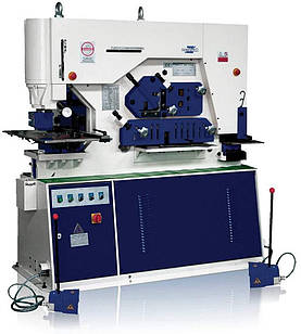 Об'єднані гідравлічні прессножницы MONAX Q35Y-50 Зусилля 250 т Глибина подачі (зів) 600 мм