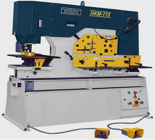 Прессножницы Sahinler HKM 115 Зусилля 115 т Глибина подачі (зів) 355 мм