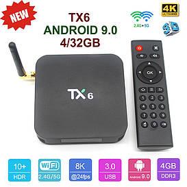 TV-Приставка TX6 4GB/32GB (Android Smart TV Box)