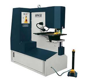 Пробивной пресс HPM 65 Усилие 65 т Глубина подачи 625 мм