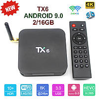 TV-Приставка TX6 2GB/16GB (Android Smart TV Box)